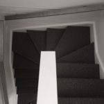 Carpet laying on stairs in Geelong - tech 2500